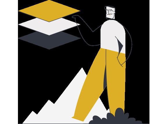 Package Implementation Stage Illustration